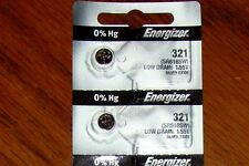 2 Pieces 321 Energizer Watch Batteries  FREE Shipping