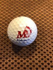 LOGO GOLF BALL-MORGANTOWN HIGH SCHOOL MOHIGANS....PROV1 BALL
