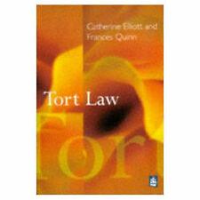 Good, Tort Law, Quinn, Frances, Elliott, Catherine, Book