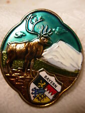 Bayern Bavaria stocknagel hiking medallion G9895