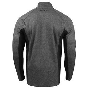 Spyder Constant Full-Zip Sweater Jacket (L)- Grey/Black