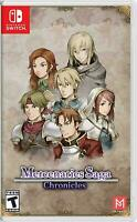 Nintendo Switch Mercenaries Saga Chronicles Brand New Rare
