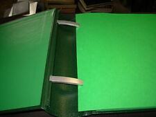 VERY CLEAN USED SCOTT SPECIALTY BINDER WITH MATCHING DUST COVER SQUARE POST!