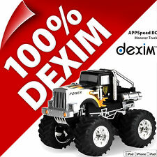 New Dexim Appspeed Monster Truck Radio Remote Control for Apple iPhone 4/4S iPad
