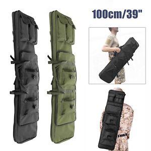 """100cm/39"""" TACTICAL RIFLE CASE Air Gun Airsoft Soft Air Mat Slip Bag UK"""