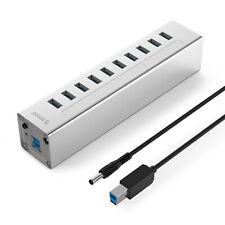 ORICO H10c1-u3 Powered 10-port USB 3.0 Data Hub With One 2a Fast Charging Port
