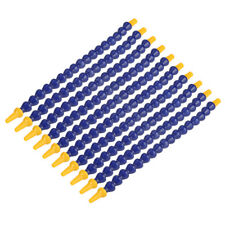 "10x 1/8"" Plastic Flexible Water Oil Coolant Pipe Hose Round Nozzle for Lathe CNC"
