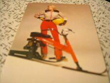 1978 Vintage CHRYSLER SNO RUNNER Snowmobile Brochure