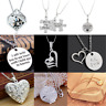 I LOVE YOU Valentine's Day Women's Girls' Gift Heart Pendant Necklace Newly Gift