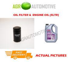 PETROL OIL FILTER + FS 5W30 ENGINE OIL FOR SUZUKI LIANA 1.6 103BHP 2002-07