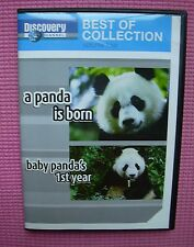 A Panda Is Born Baby's First Year DVD Discovery Channel 2007 Mei Xiang Tian