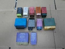 VOLVO 850 1996 SELECTION OF RELAYS,CENTRAL LOCKING ,BLL,LAMP CONTROL PLUS MORE