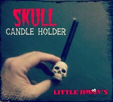 Little Jimmys Prop Shop Pk Skull Candle Holder. Telekinesis Mentalism Magic