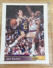 John Stockton Upper Deck Limited Edition Over Sized Card 92-93 Utah Jazz
