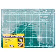 A4 Craft Cutting Mat Measuring Grid Non Slip Surface 300 x 220mm