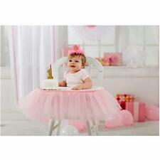 Mud Pie Birthday Princess Collection Pink Tulle High Chair Skirting Wrap 2002189