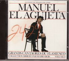 MANUEL EL AGUJETA Cantores du Flamenco Vol. 8 new sealed 2007? Harmonia France