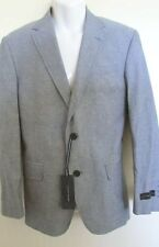 NWT $350 Tommy Hilfiger Luxury Chambray Wilson Trim Fit Blazer Sport Coat R38