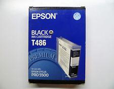 Epson black T486 T4860 schwarz black Stylus Pro 5500 110ml --------- OVP 01/2015