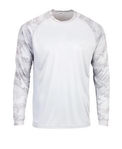 Paragon Adult Camo Long Sleeve UPF 50+ T-Shirt Fishing outdoor UV Protection SM0