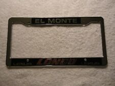 Lexus Longo El Monte California Dealership License Plate Frame. Brand New.