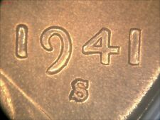 MS66RD 1941-S  LINCOLN CENT DDO-002 DOUBLED DIE ERROR (9-01-01)
