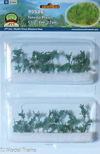 "JTT Scenery Products #95526 Tomato Plants - Assembled -- 1-1/2"" 3.8cm Tall (12)"