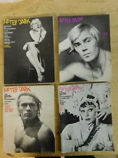 Lot of 12 After Dark Magazines 1972-77