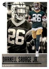 2019 Illusions Black Retail Darnell Savage Foil Parallel Rookie RC PWE Packers