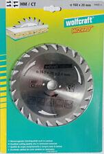 Lame De Scie Circulaire 160mm Wolfcraft Ref 6468000