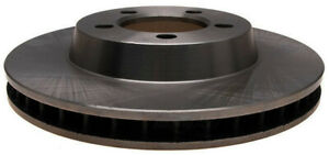 Disc Brake Rotor-Non-Coated Front ACDelco 18A1398A