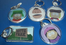 South Park ~ Set Of Five Plastic Disc Key Rings, ~ Brand New, Never-Been-Handled