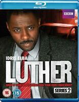 Luther Series 2 [Blu-Ray] Idris Elba ** Brand New & Sealed Blu Ray ** GIFT IDEA