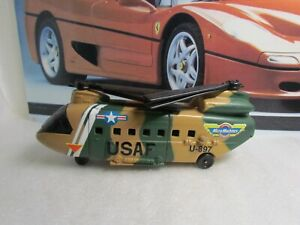 GALOOB / MICRO MACHINES - MILITARY CHINNOOK HELICOPTER CARRY VEHICLE - UNBOXED