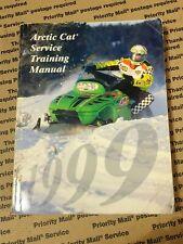 Arctic Cat Snowmobile 1999 Service Training Manual 2256-024