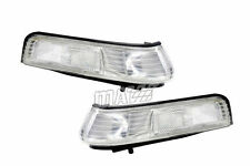 Replacement Performance Clear Front Corner Lights Two Piece One Pair for Accord