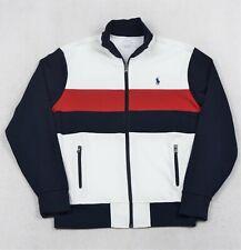 Polo Ralph Lauren Jacket Athletic Track Full Zip M Medium NWT $125