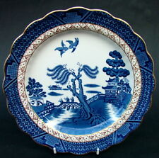Vintage Booths Real Old Willow A8025 Pattern Lg Dinner Plates 25cm - Look in VGC