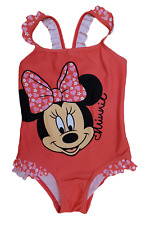 GIRLS DISNEY MINNIE MOUSE SWIMSUIT ~ 4-5 YEARS # 1600