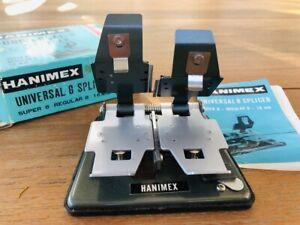 Hanimex Universal 8 Splicer. Super8, Regular8 and 16mm in original box & booklet