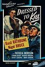 Sherlock Holmes: Dressed to Kill (Basil Rathbone) - Region Free DVD - Sealed