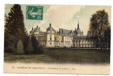 chateau de chantilly , le château vu du parc