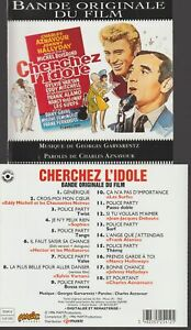Cherchez L'idole Cd Bande Originale Du Film Johnny Hallyday Eddy Mitchell Surfs