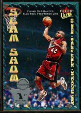Jerry Stackhouse Slam Show 2000-01 Ultra Basketball Card #SS3 Detroit Pistons