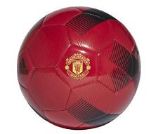 Manchester United Football Ball Red Size 5 Kids adidas