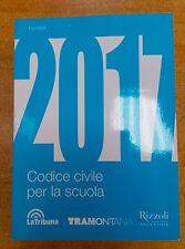 Libro Codice CIVILE 2017 Tramontana RCS Diritto NUOVO 9788823352681 Università