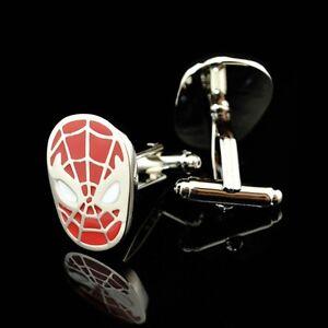 Awesome Spider Man Cufflinks Marvel Super Hero Halloween Teen Geek