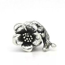 Stunning Branched Flower 925 Sterling Silver Charm Bracelet Gift Troll Bead