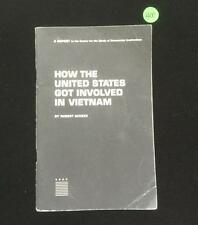 How the United States Government involved in Vietnam Booklet, 1965 Lot 400