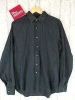 "Prada Navy Blue Long Sleeve Smart Formal Dress Shirt Large 17"" 43 VGC QUALITY"